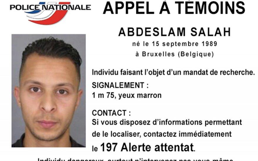 Įtariamasis Salahas Abdeslamas