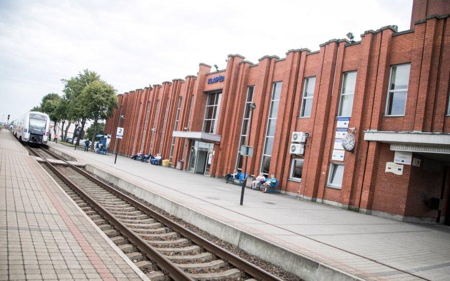 Правительство одобрило переделку железнодорожных путей порта Клайпеды