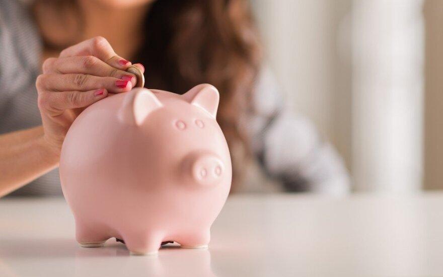 На одного жителя Литвы приходится имущество стоимостью 14 000 евро и 3400 евро долгов