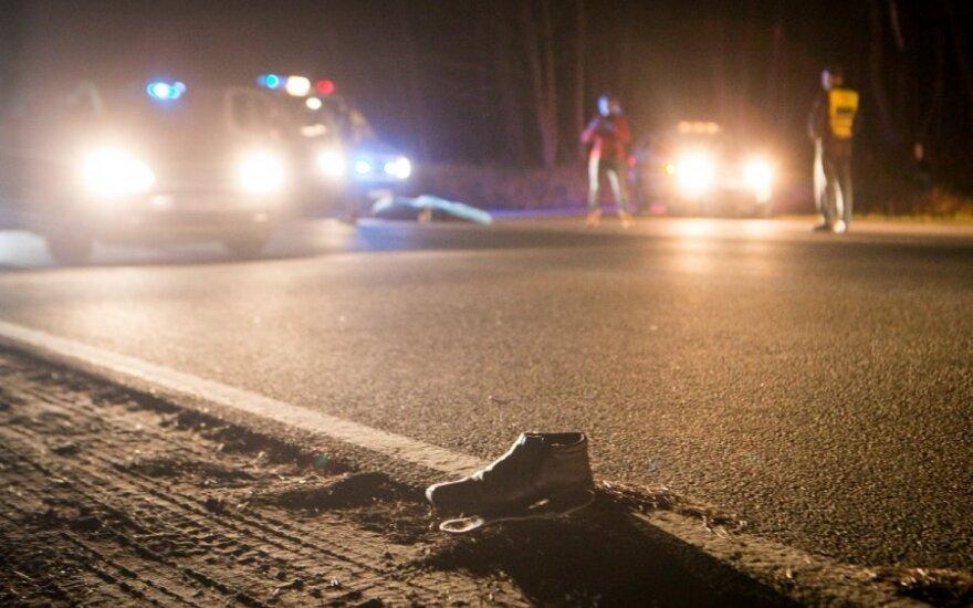 Из-за вышедшего на магистраль пешехода столкнулись 4 автомобиля