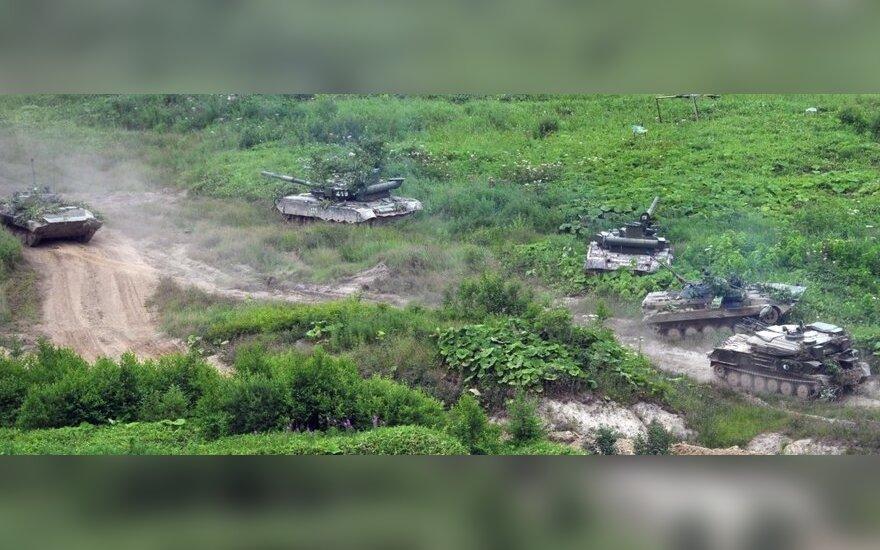 Россия начала военные учения в Крыму и на Кавказе