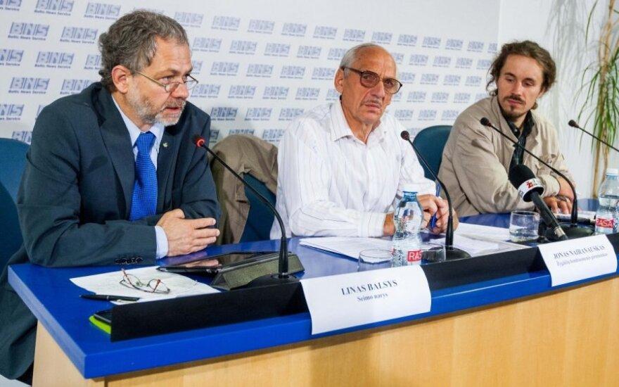 Linas Balsys, Jonas Nairanauskas ir Darius Vilius