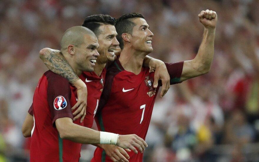 Euro 2016: Lenkija – Portugalija