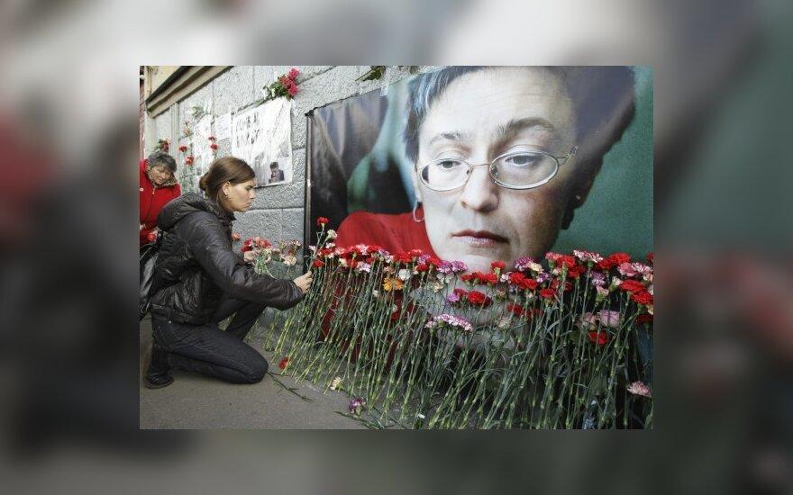 В Москве прошел митинг памяти Анны Политковской