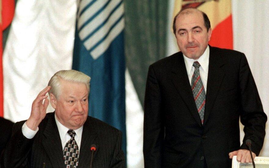 Borisas jelcinas ir Borisas Berezovskis