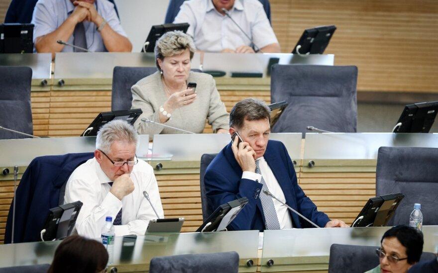 Парламент Литвы принял новый Трудовой кодекс