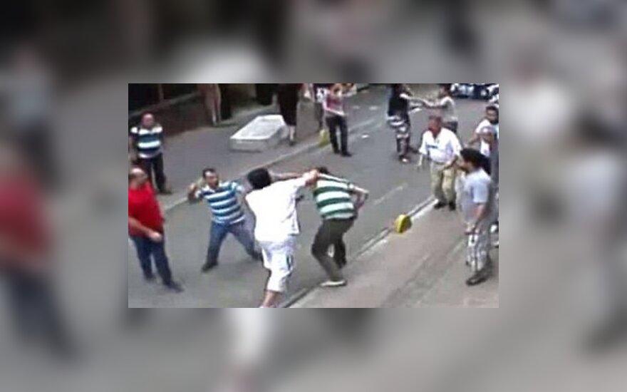 Ирландский турист подрался с разгневанными турецкими торговцами