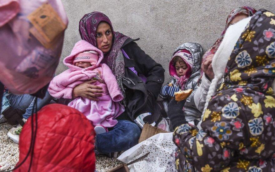 Балтийские страны не согласятся с повышением квот беженцев без усиления границ