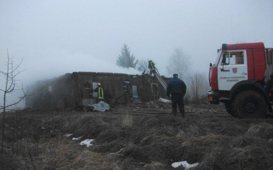 В Кайшядорском районе в пожаре погибли два человека