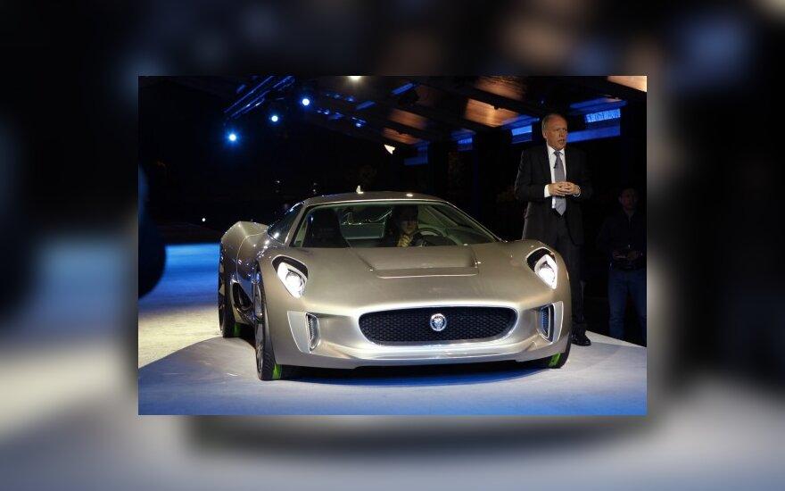 Jaguar отметил 75-летие премьерой электрокара