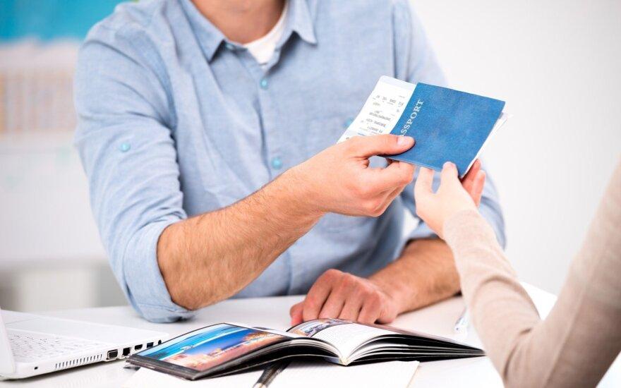 В США открыты литовские визовые центры