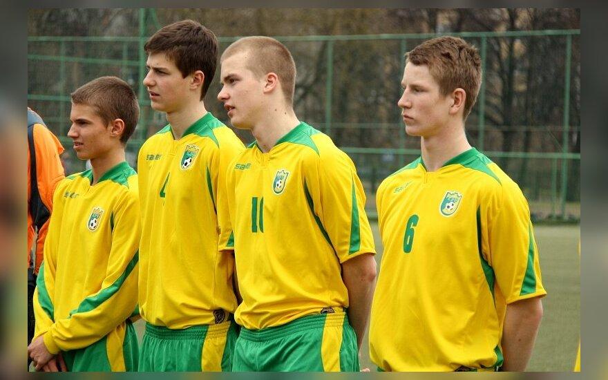 Lietuvos jaunių (U-18) rinktinės futbolininkai