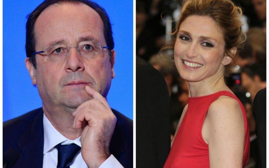 Francois Hollande'as ir Julie Gayet