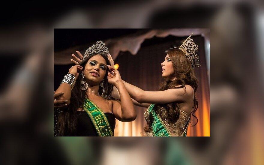 ФОТО: В Бразилии прошел конкурс красоты для трансгендеров
