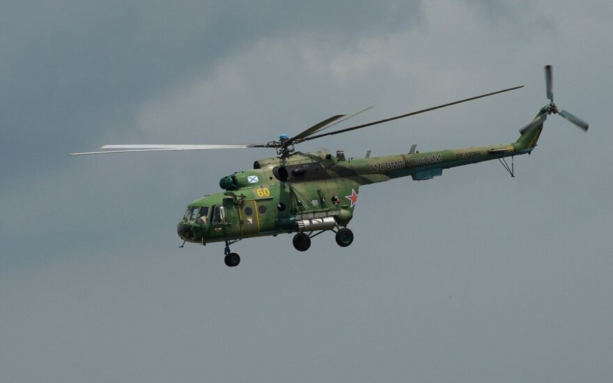 Починены вертолеты, по поводу ремонта которых в России возник ажиотаж