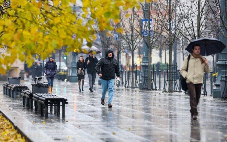 Lapkritis - niūrus ir lietingas mėnuo