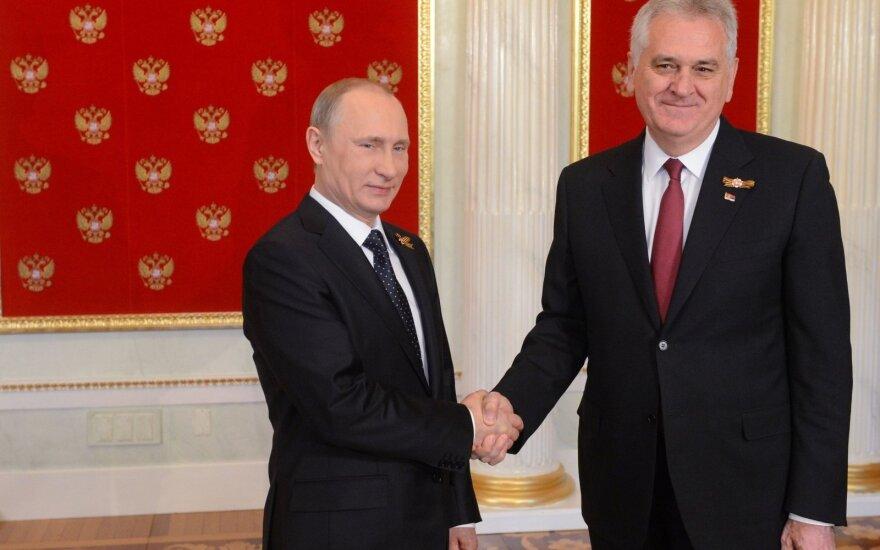 Путин обсудили с Николичем сотрудничество Сербии с НАТО