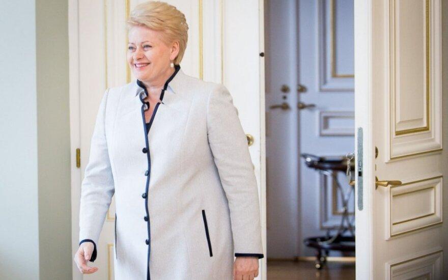 Dalia Grybauskaitė: Taktyka Putina jest podobna do działań Stalina i Hitlera