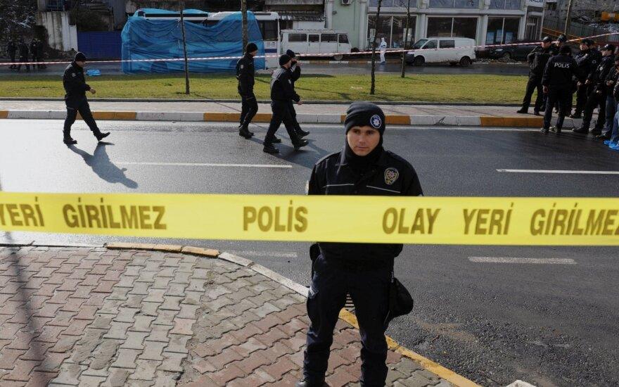 Турецкая полиция обезвредила заложенную бомбу