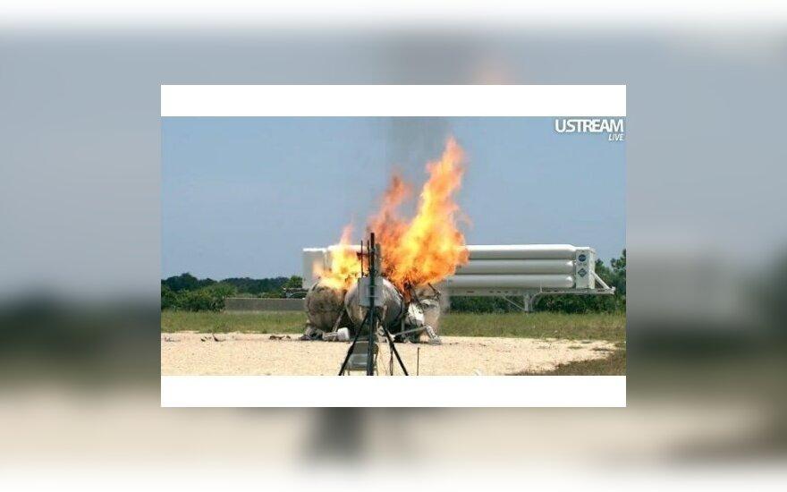 При испытаниях NASA взорвался экспериментальный аппарат