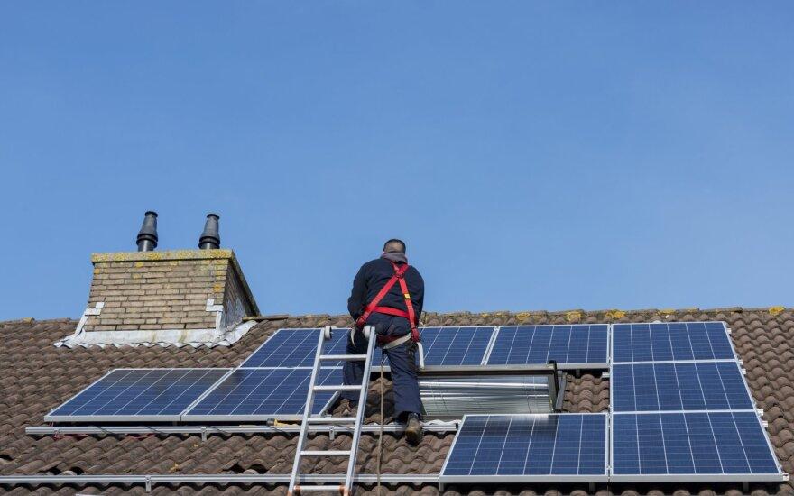 Скоро все жители Литвы будут иметь возможность производить электричество самостоятельно