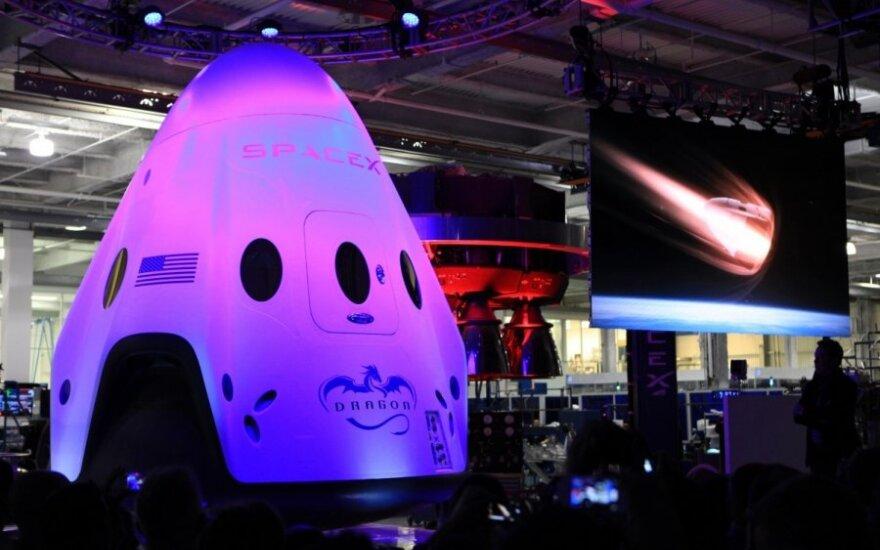 "Bendrovės ""SpaceX"" kapsulė ""Dragon"""