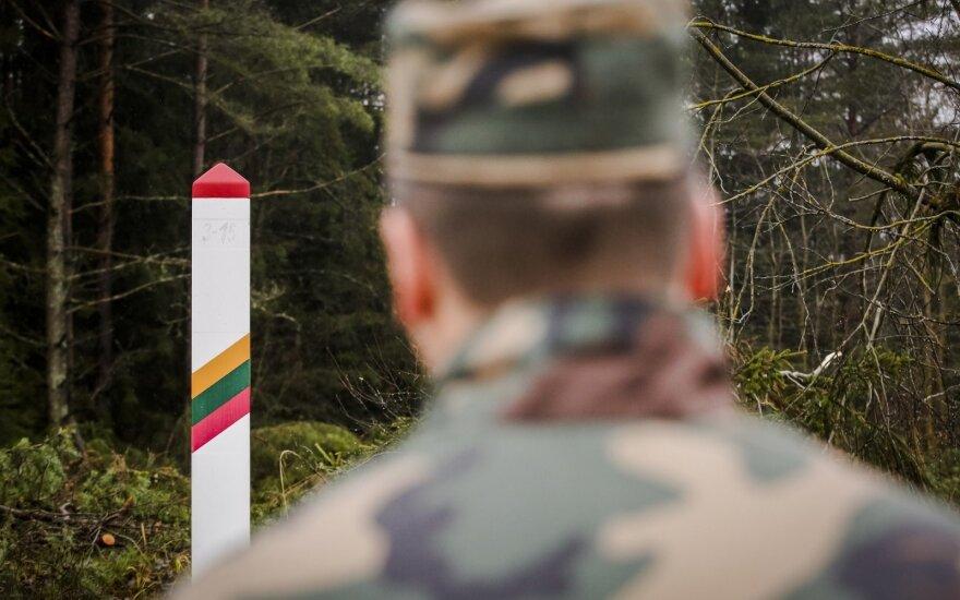 Белорусского пограничника подозревают в нарушении литовской границы