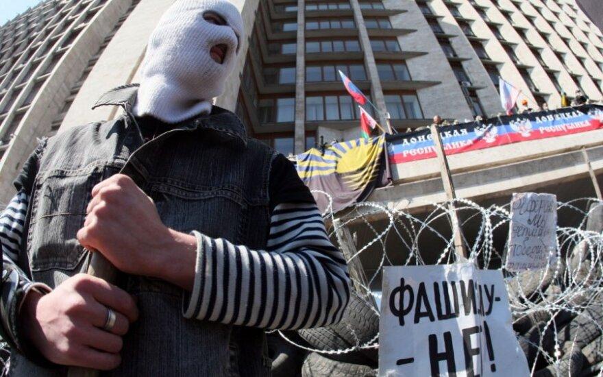 В Луганске сепаратисты заминировали здание СБУ и взяли заложников