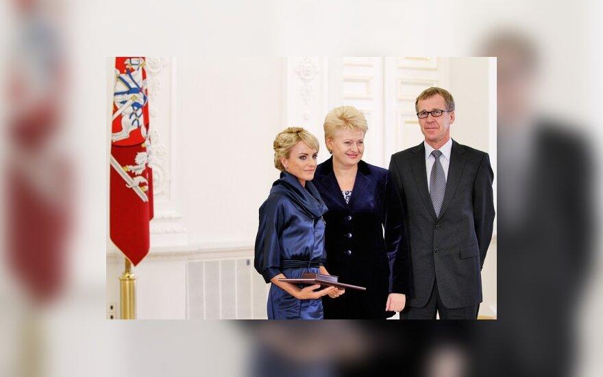 Živilė Balčiūnaitė, Dalia Grybauskaitė, Romas Sausaitis