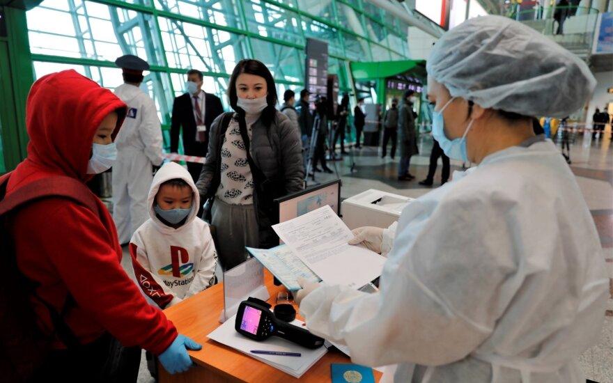 Koronavirusas Kazachstane
