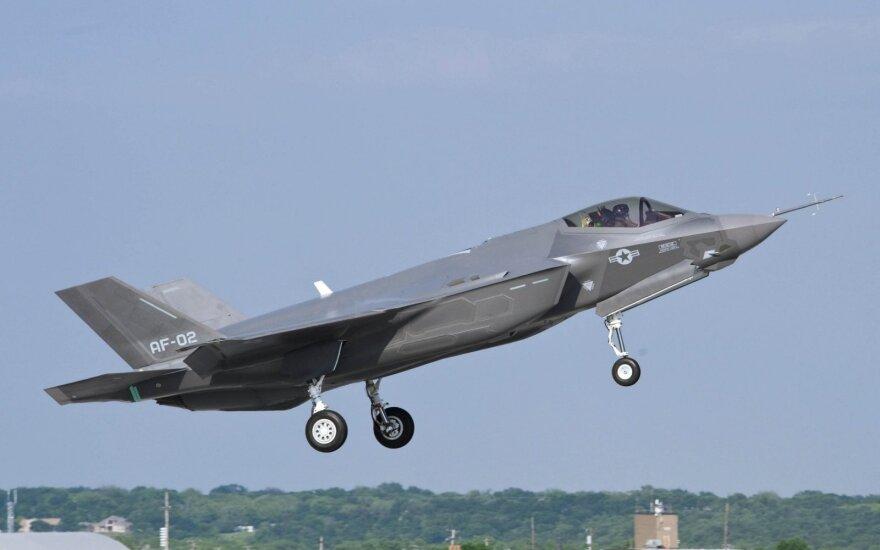 Американский суперсовременный истребитель F-35 впервые потерпел катастрофу