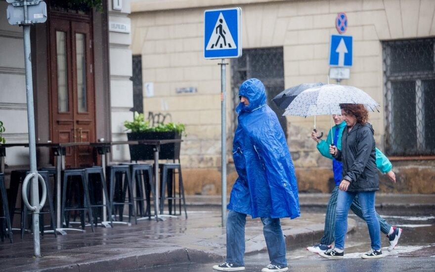 Во вторник будет по-осеннему холодно и дождливо