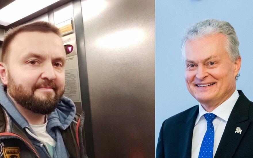 Stanislavas Stavickis-Stano ir Gitanas Nausėda