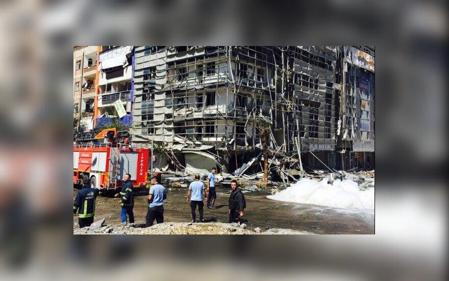 Число раненых при взрыве в турецком городе Ван выросло до 48