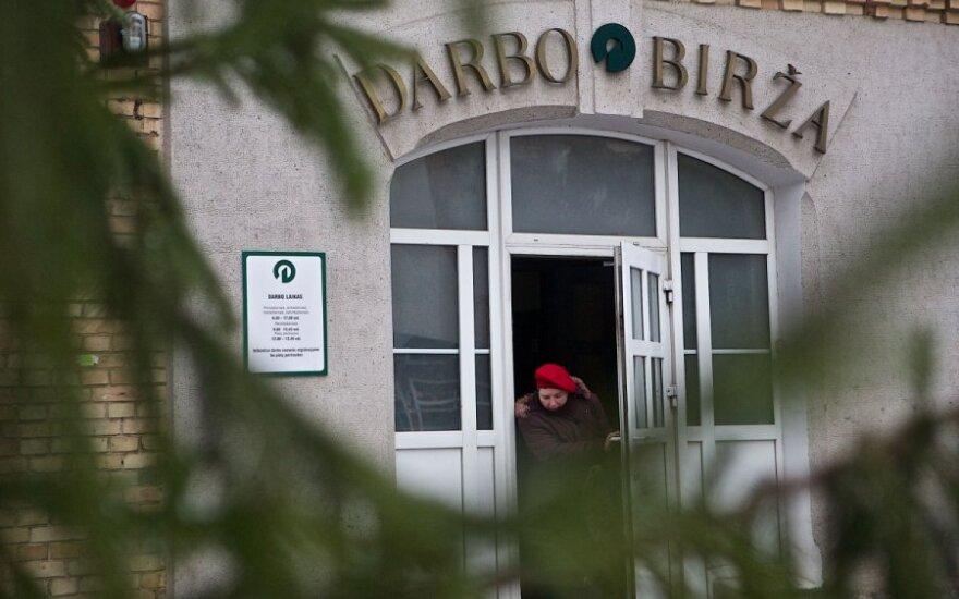 Уровень безработицы в Литве за месяц снизился на 0,1 пункта