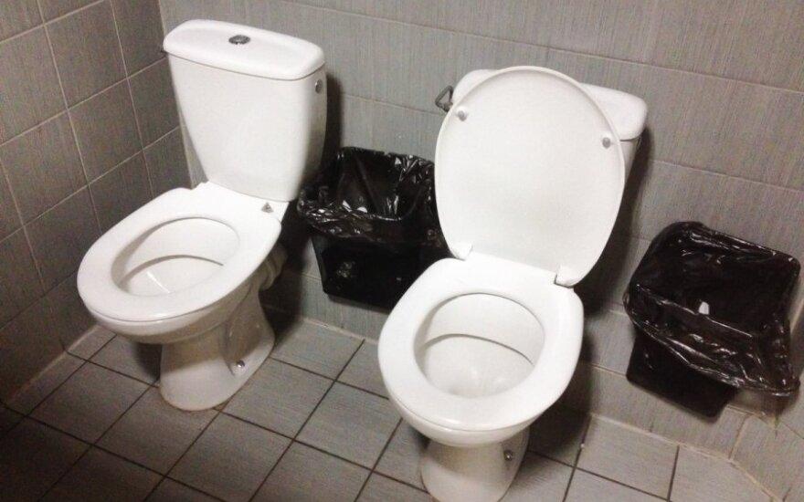 Двойные туалеты есть не только в Сочи, но и в Вильнюсе