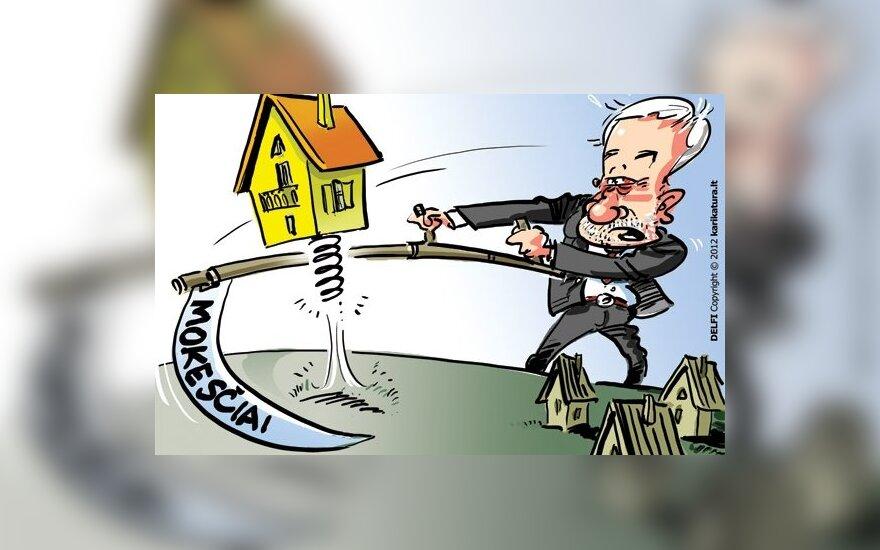 Жители Литвы – за налог на недвижимость, но для соседей