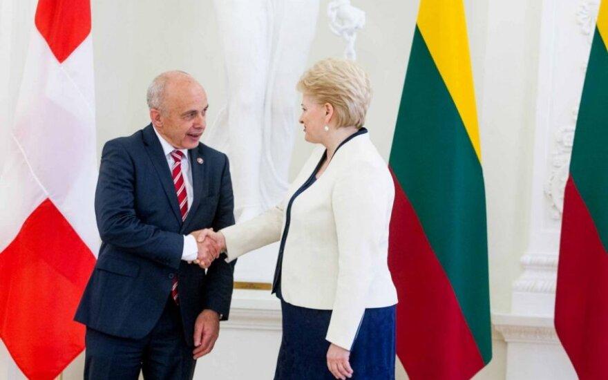Dalia Grybauskaitė ir Uelis Maureris