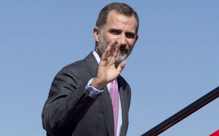 Король Испании назвал план отделения Каталонии неприемлемым