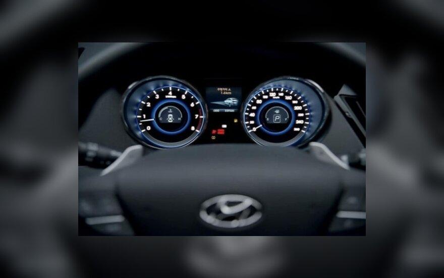 Hyundai Sonata/i40. worldcarfans.com nuotr.