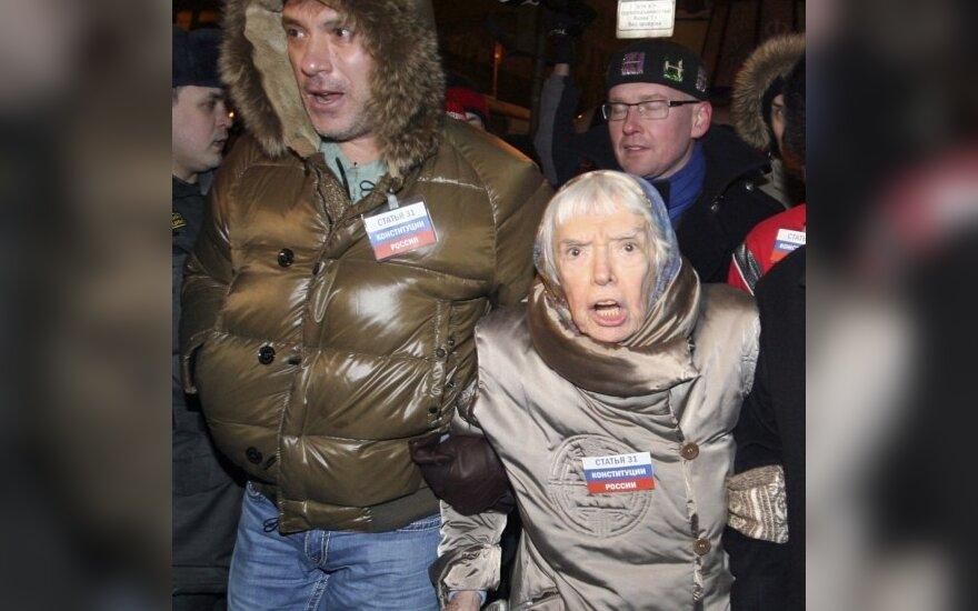Borisas Nemcovas ir Liudmila Aleksejeva