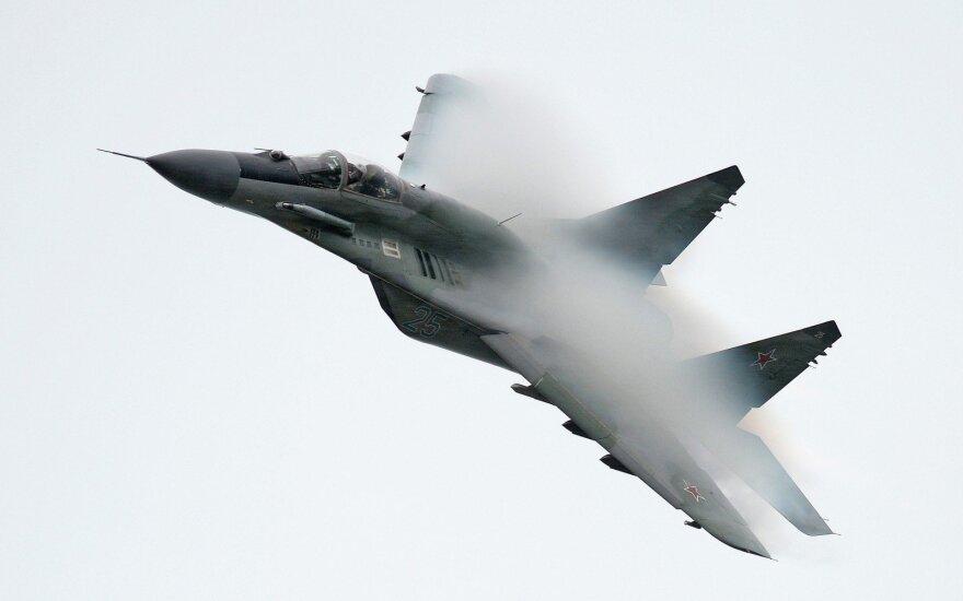 В Египте разбился проданный Россией истребитель МиГ-29