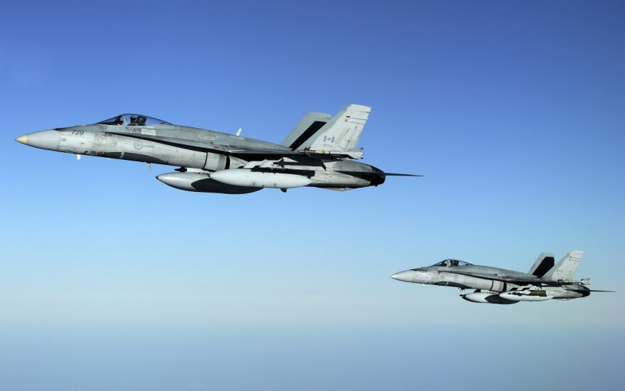 NATO karo lėktuvai