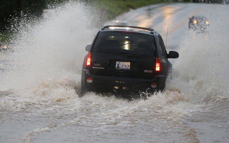 Dėl klimato kaitos prasidės potvyniai