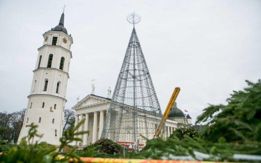 W Wilnie masowo ruszyły przygotowania do Bożego Narodzenia