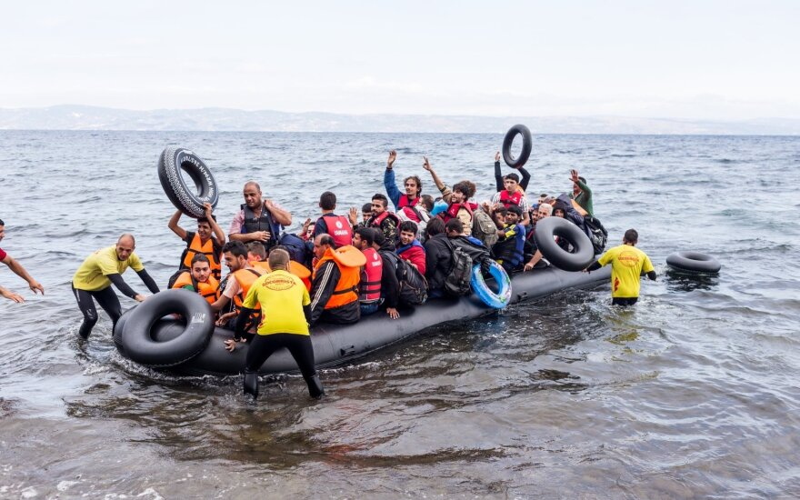 Литовская делегация отправилась в Италию обсудить перемещение беженцев
