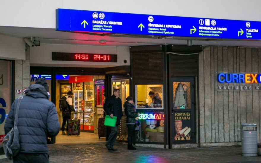 Акционер Вильнюсского автобусного вокзала договорился с мэром: вокзал останется на прежнем месте