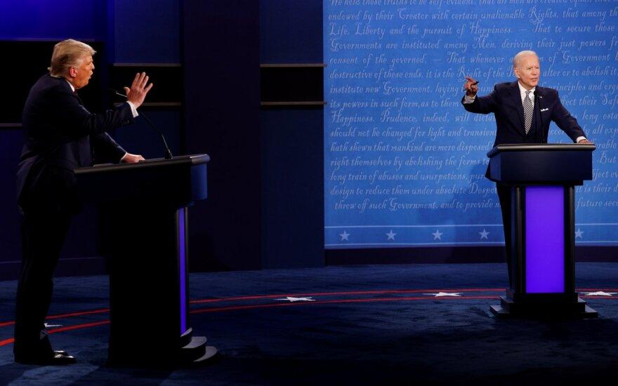 Donaldo Trumpo ir Joe Bideno debatai