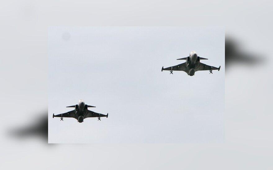 Немецкие туристы подняли в небо истребители НАТО