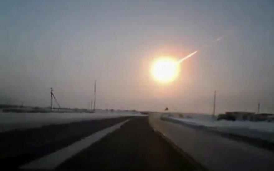 Čeliabinsko meteoras